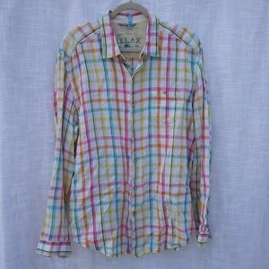 Tommy Bahama Linen Long Sleeve Button Down Shirt